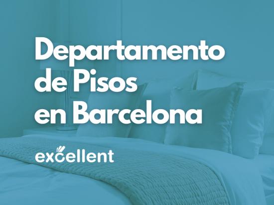 Departamento de pisos en Barcelona - Excellent